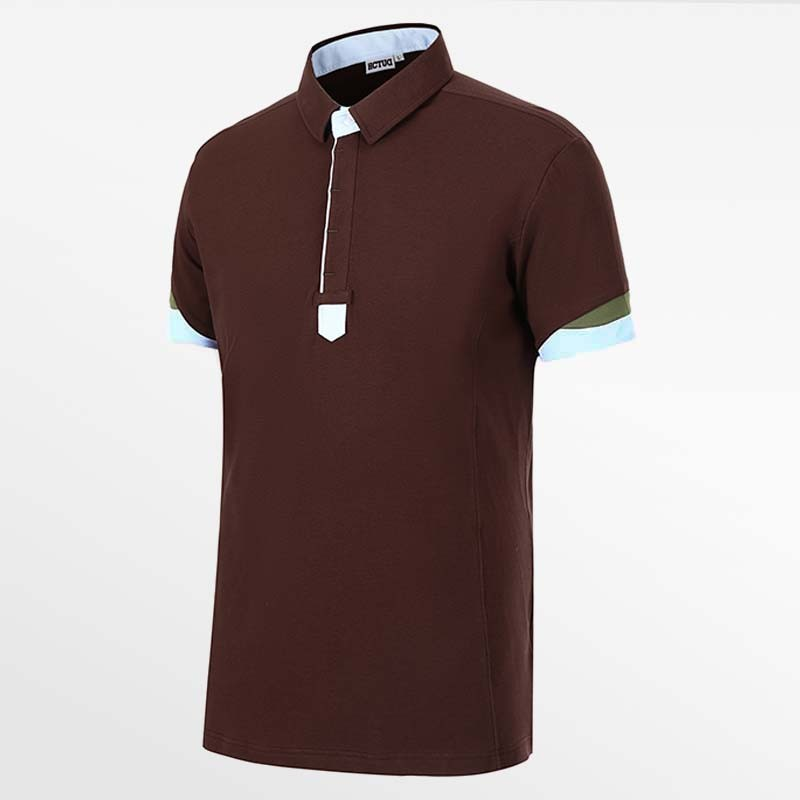 Men's poloshirt brown from HCTUD 
