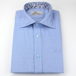 Chemise homme bleu clair coupe ample | Ollies Fashion