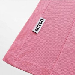 Roze poloshirt Micromodal Pique. Wees stijlvol in luxe met HCTUD.