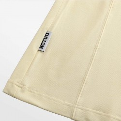 Yellow polo shirt Micro-modal Pique. Be stylish in luxury with HCTUD.