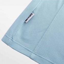 Blauw met wit poloshirt HCTUD. Stoer, stijlvol en luxe.