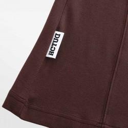 Braun Poloshirt Micromodal Pique. Seien Sie stilvoll in Luxus mit HCTUD.