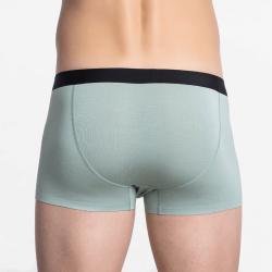 Korte boxershort heren groen naadloos met goede pasvorm