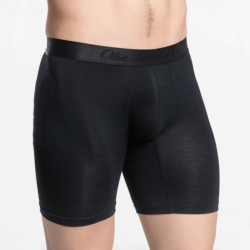 Men's premium boxers long anti-perspirant sustainable Micromodal