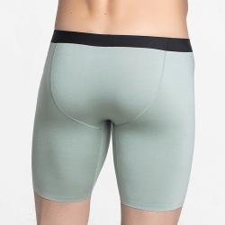 Boxershort groen met lange pijpjes duurzaam en comfortabel