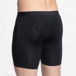 Zwart naadloos comfortabel heren ondergoed