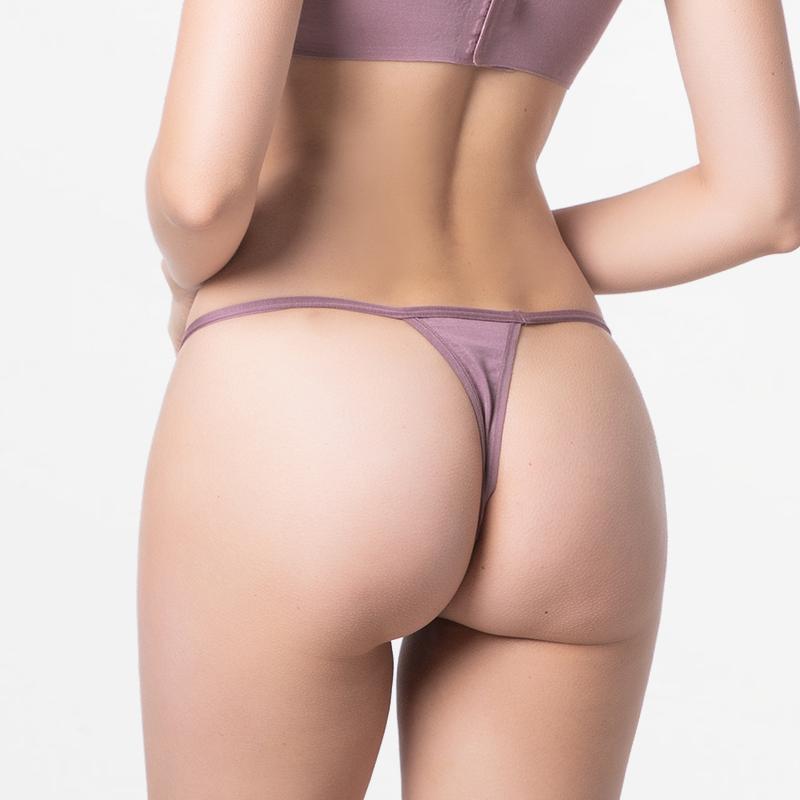 Féminins sous-vêtements Micromodal g-string avec un ajustement fin