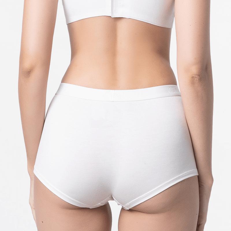 Ladies underwear with short legs slim fit Passform of Modal