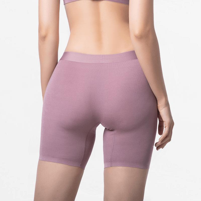 Dames boxershort met lange pijpjes met slim fit pasform van MicroModal