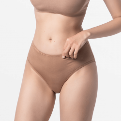 Ladies brief slip brown Micromodal maximum sustainable