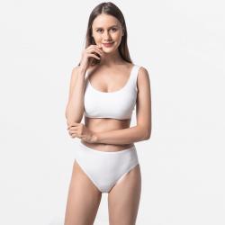 Damen Slip Elfenbein extrem langlebig und komfortabel Micromodal