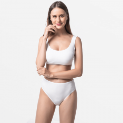 Ladies slip ivory extremely durable and comfortable micromodal