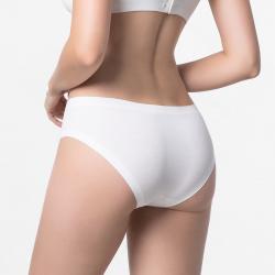 Nahtlose Damen-Unterwäsche Elfenbein mit flachen Nähten