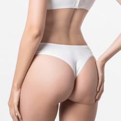 Dames string ondergoed ivoor met fijne pasvorm van MicroModal