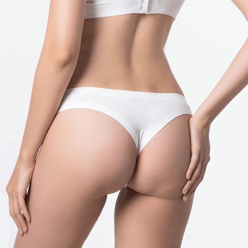 Sustainable seamless ladies panties underwear with EU Ecolabel