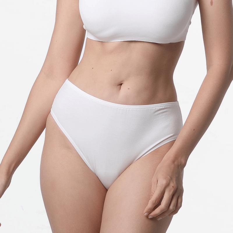 Dames ivoor briefs ondergoed met vlakke stick naden ultra comfortabel