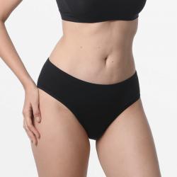 sous-vêtementspour femmesnoires avec Micromodal