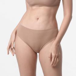 Sous-vêtements sans couture dames brun avec de bonnes finitions