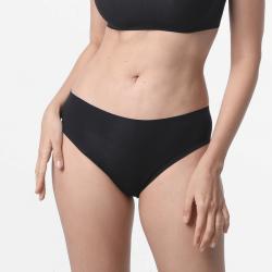 Duurzaam zwart dames ondergoed met vlakke naden ultra comfortabel