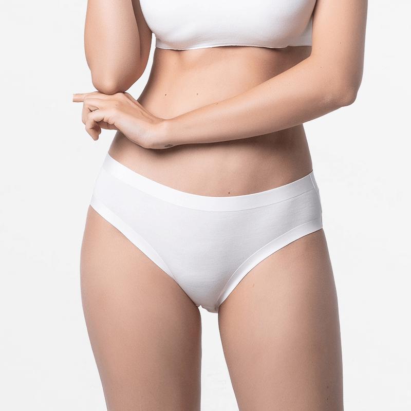 Naadloos ivoor dames ondergoed fijn voor je huid