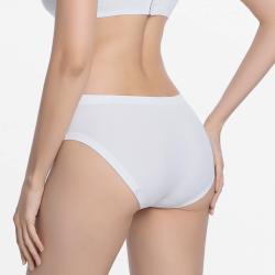 Sous-vêtements sans couture pour femmes en ivoire agréables pour votre peau anti-allergie