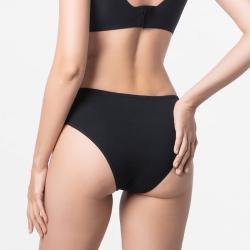 Bonne finition de sous-vêtements Cheeky slip noir dames