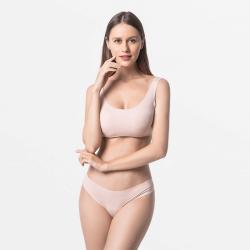 Brazilian Damen Thong völlig in Ordnung für Ihre Haut beige