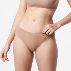 Brazilian Damen nahtlose string braun gut für Ihre Haut Micromodal