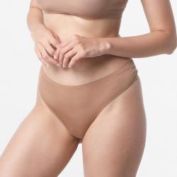 Antitranspirants string brun Micro dames modales