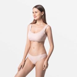 Sous-vêtementspour femmes Beige respirant Modal Tencel
