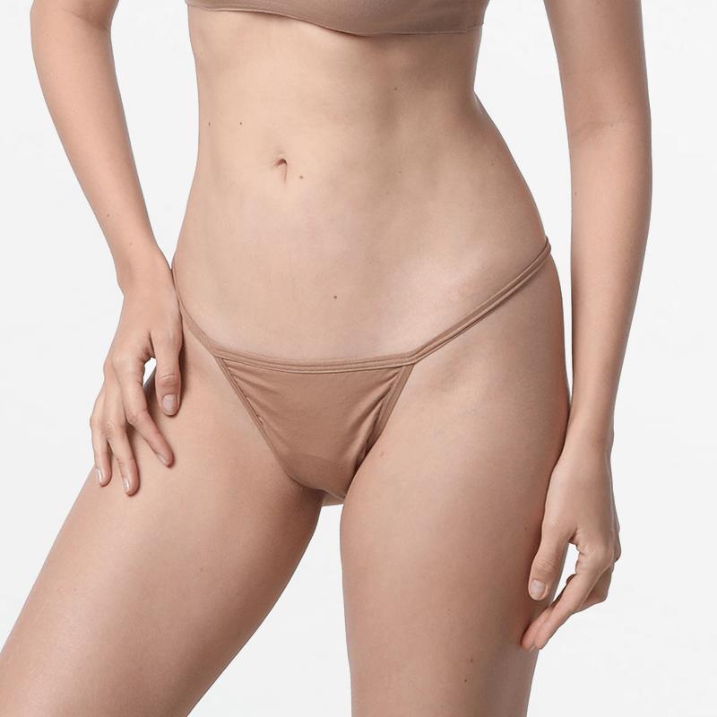 sous-vêtementspour femmes Micromodal G-string avec un ajustement fin