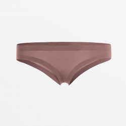 Brazilian thong for women aubergine responsibly produced Micromodal