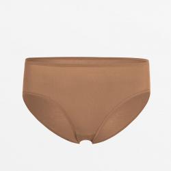 Duurzaam bruin dames ondergoed met vlakke naden ultra comfortabel