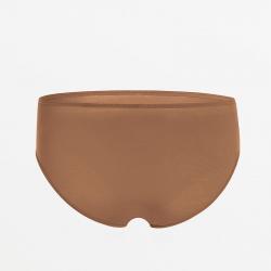 Cheeky brown bikinislip extremely comfortable Micromodal