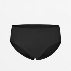 MicroModal schwarze Damen-Slip nahtlose Antitranspirant