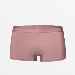 Aubergine kleurig Boyshort dames ondergoed MicroModal