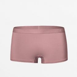 Aubergine couleur Boyshort sous-vêtements féminins Micromodal