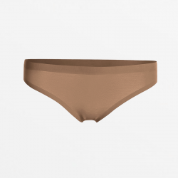 Sans couture ultra comfortable string brun