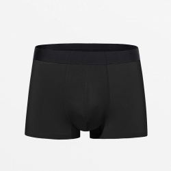 Seamless black men's underwear