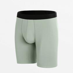 Boxershort naadloos comfortabel ondergoed met lange pijpjes