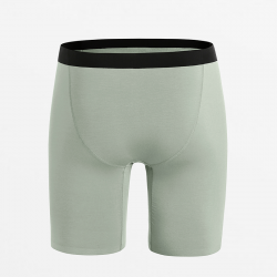 Boxer brief slim fit silky long legs with EU Ecolabel