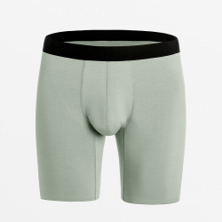Boxers seamless green from Modal silky and maximum sustainable