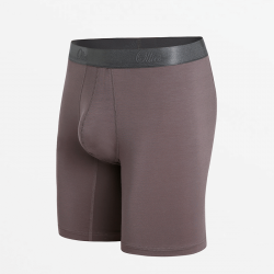 Boxer shorts with long pipe and flat seams with slim fit Passform