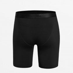 Black boxer briefs with fine fit of premium Tencel Micromodal