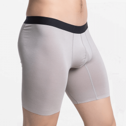 Seamless boxer shorts men's long
