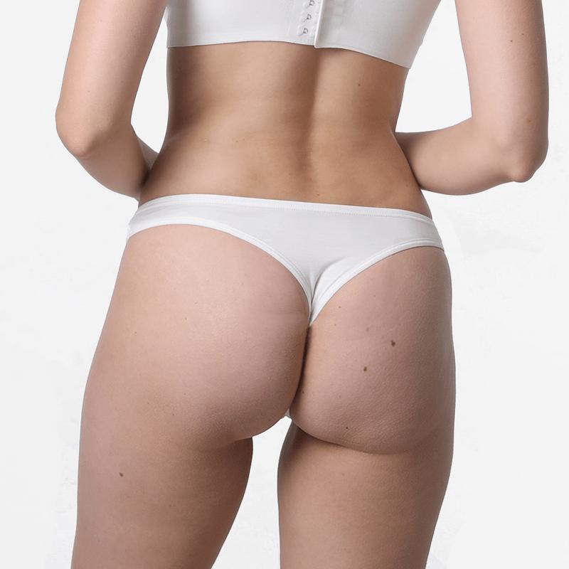 Sous-vêtements pour Femmes micromodal ivoire string slip