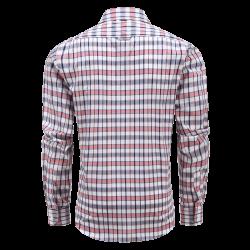 Männer Myle Langarm Oberhemd mit Magneten Taschen