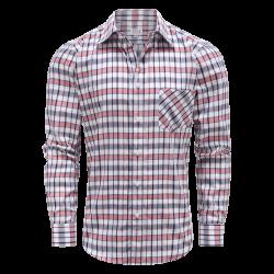 Magnatic Oberhemd Shirt für Männer langärmliges, loose fit Modell