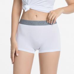 Boxer shorts, hipster, boy shorts white ladies bamboo