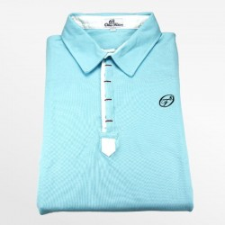 Polo hommes bleu clair | Ollies Fashion
